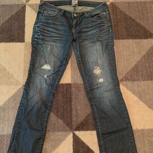 Distressed Arden B Jeans Size 8